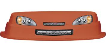 MD3 Evolution 1 Nose-Decal Combo - (Orange - Corvette)