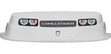 MD3 Evolution 1 Nose-Decal Combo - (White - Challenger)