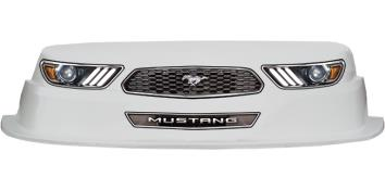 MD3 Evolution 1 Nose-Decal Combo - (White - Mustang)
