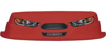 MD3 Evolution 1 Nose-Decal Combo - (Red - Fusion)