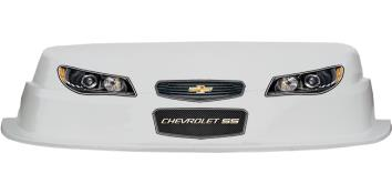 MD3 Evolution 1 Nose-Decal Combo - (White - Chevy SS)