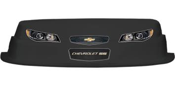 MD3 Evolution 1 Nose-Decal Combo - (Black - Chevy SS)