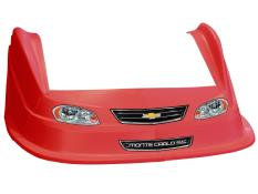 MD3 Evolution 1 Nose-Fender-Decal Kit - (Red-Monte Carlo)