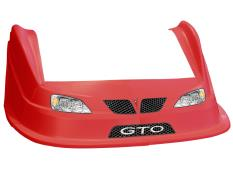 MD3 Evolution 1 Nose-Fender-Decal Kit - (Red-GTO)