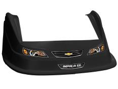 MD3 Evolution 1 Nose-Fender-Decal Kit - (Black-Impala)