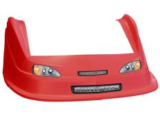 MD3 Evolution 1 Nose/Fender/Decal Kit - (Red - Corvette)