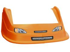 MD3 Evolution 1 Nose/Fender/Decal Kit - (Orange - Corvette)