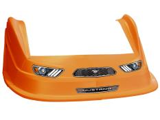 MD3 Evolution 1 Nose-Fender-Decal Kit - (Orange-Mustang)