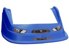 MD3 Evolution 1 Nose-Fender-Decal Kit - (Ch Blue-Mustang)