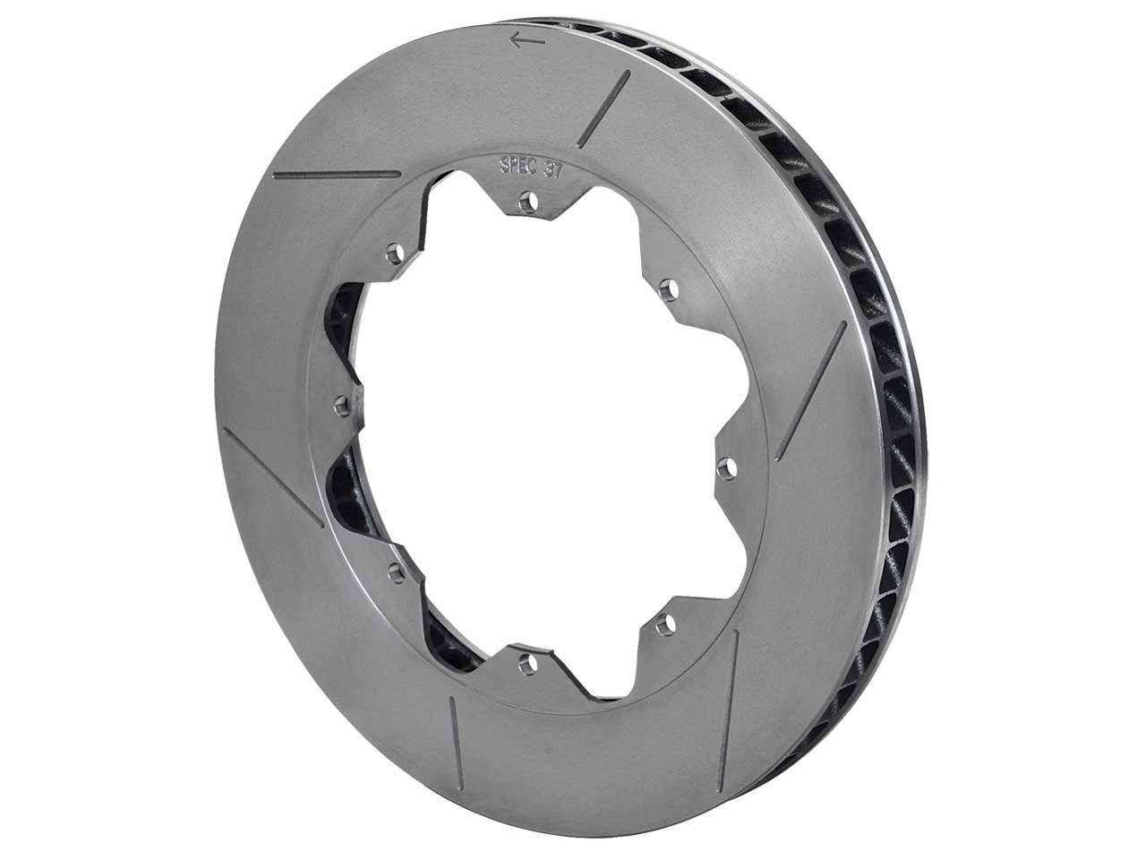 "Wilwood GT 36 Curved Vane Slotted Spec-37 Rotor - (LH-.810"")"