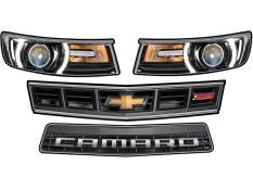MD3 - Gen 3 Evolution Camaro Headlight Graphics
