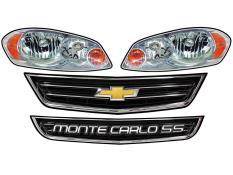 MD3 - Gen 3 Evolution -Monte Carlo Headlight Graphics