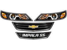 MD3 - Gen 3 Evolution - Impala SS Headlight Graphics