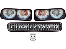 MD3 - Gen 3 Evolution - Challenger Headlight Graphics