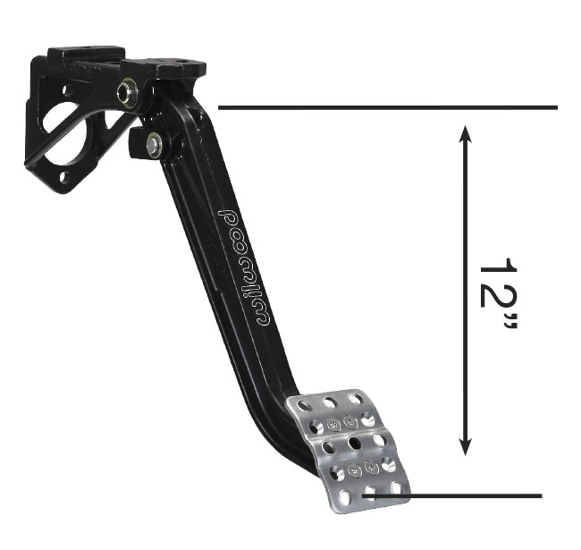 Picture of Wilwood Adjustable Brake / Clutch Pedal - Swing