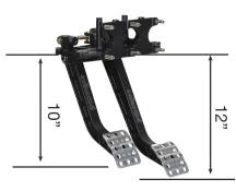 Picture of Wilwood Adjustable Dual Pedal - Reverse Mount - B6.25:1 C5.1:1
