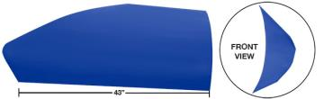 "Modified 43"" Angled Roof Post Kit - (Chevron Blue)"