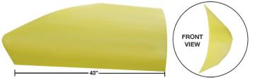 "Modified 43"" Angled Roof Post Kit - (Yellow)"