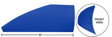 """Modified 62"""" Angled Roof Post Kit - (Chevron Blue)"""