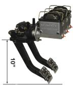 """Picture of Reverse Mount - Dual 10"""" Pedal Combo"""