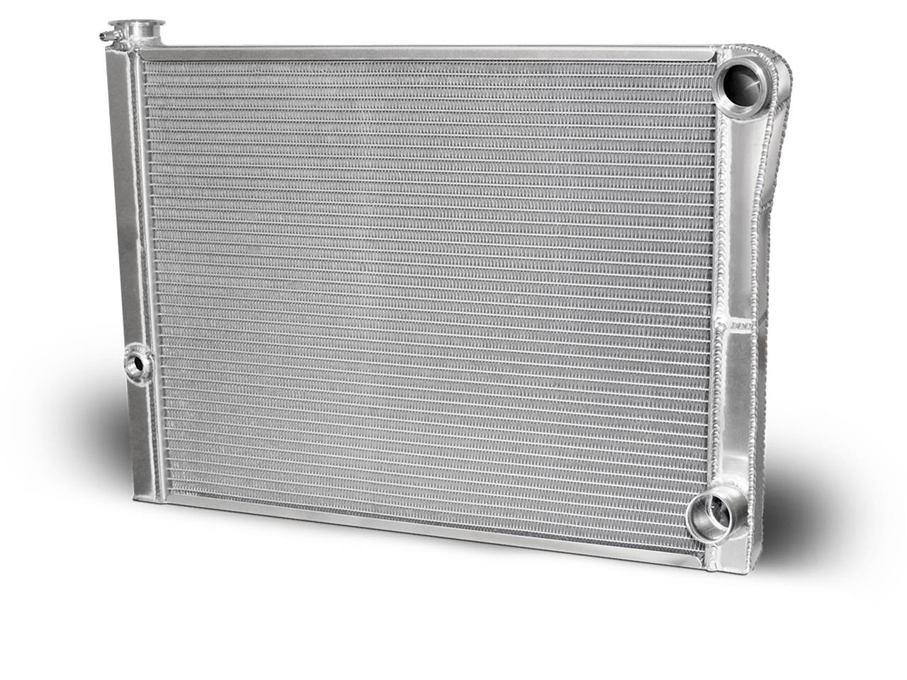 "AFCO Chevy Radiator - 19"" x 26"" - Double Pass - Univ Inlet"