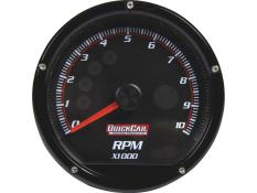 "QuickCar Tach - Multi Recall - 3""  - Black"
