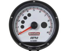 "QuickCar Tach - Multi Recall - 3"" - White"