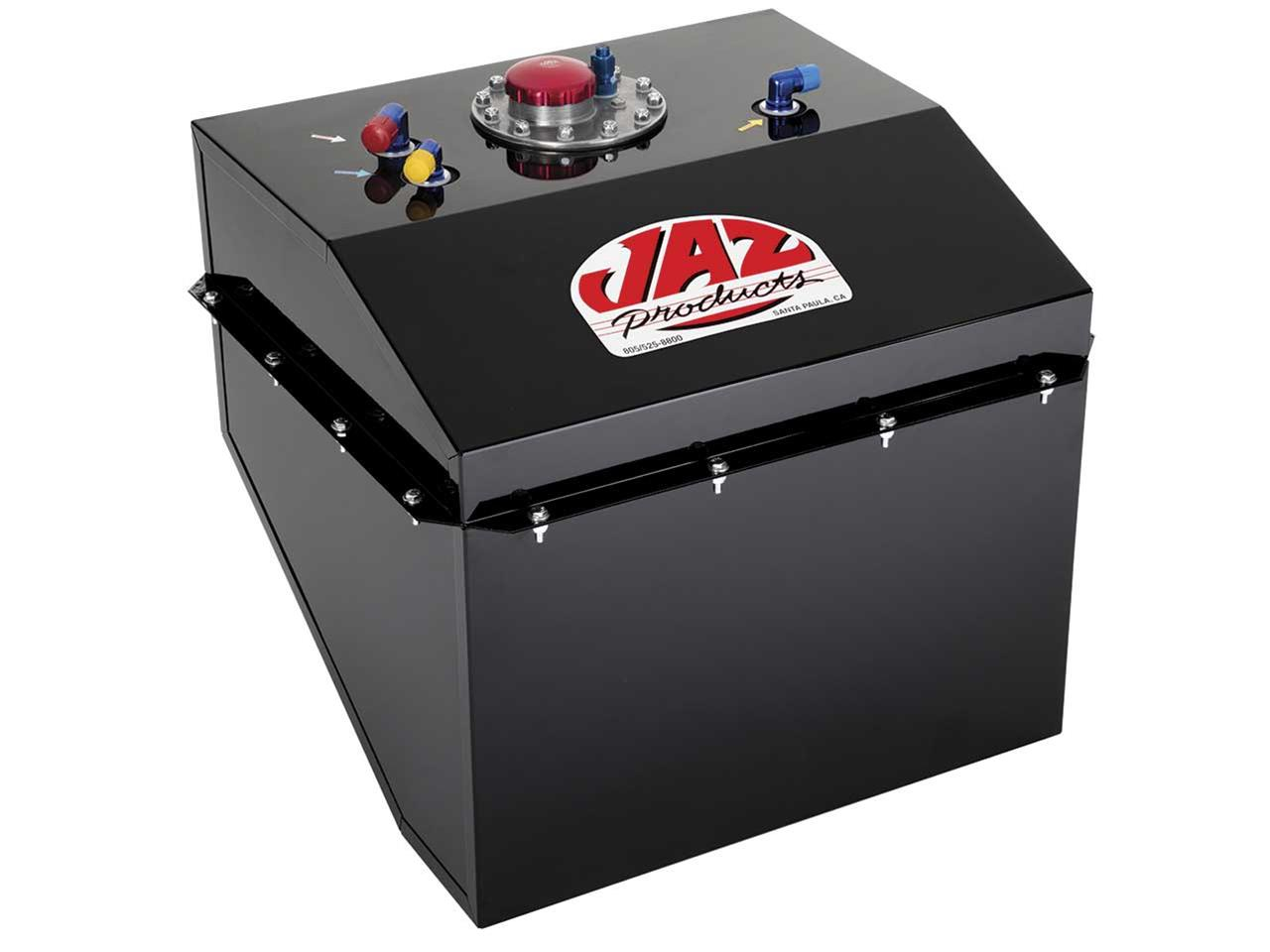 Jaz 22 Gallon Wedge Fuel Cell - Black