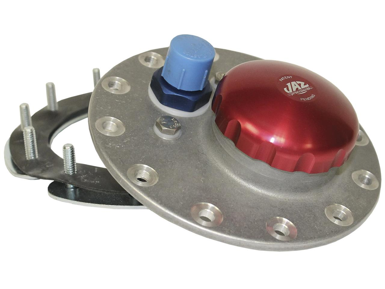 Picture of JAZ 12-Bolt Cap Assembly w/ Red Anodized Cap