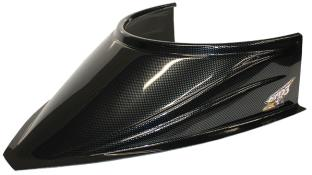 "MD3 Curved Bottom 4-3/4"" Hood Scoop - (Carbon Fiber Appear)"