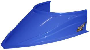"MD3 Curved Bottom 4-3/4"" Hood Scoop - (Chevron Blue)"