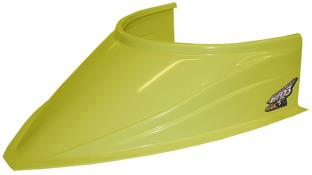"MD3 Curved Bottom 4-3/4"" Hood Scoop - (Yellow)"