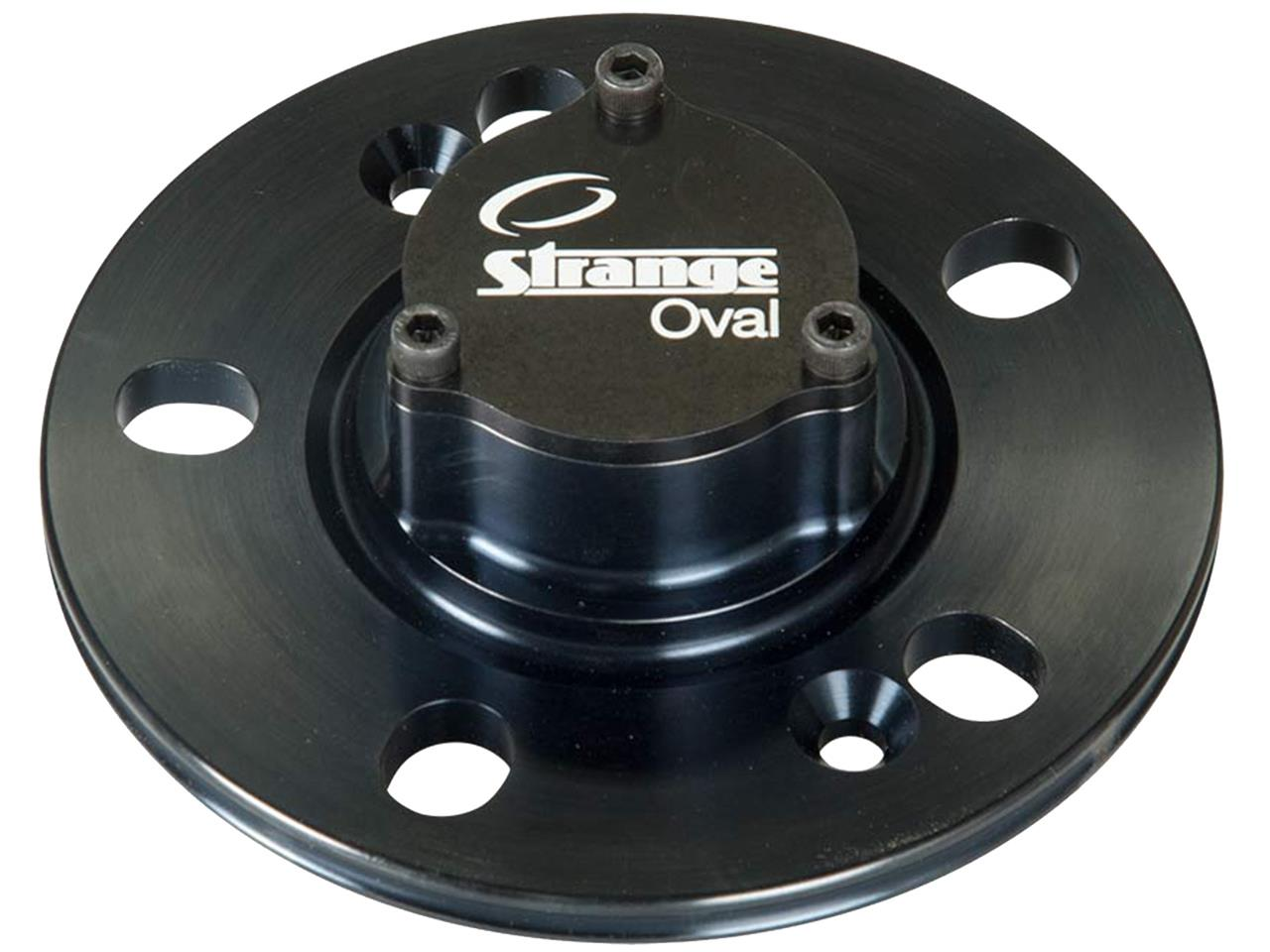 Strange Oval Aluminum GN Drive Plate with Steel Insert