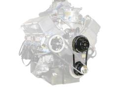 Picture of Jones SBC/BBC Snout Short Water Pump Serpentine Drive - Tandem Kit