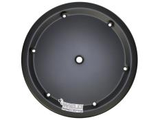 "Weld 15"" 6-Hole Black Aluminum Mud Cover"