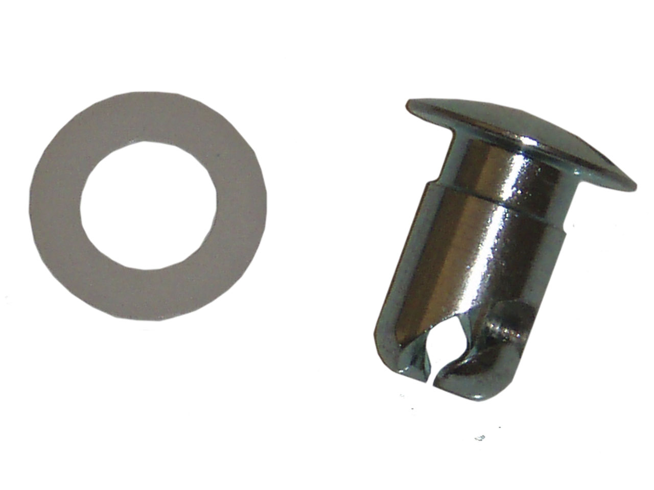 Picture of Weld Chrome Dzus Fastener w/Washer