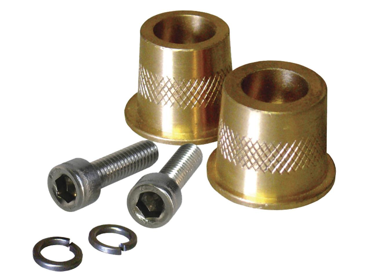 XS Power Brass Short Post Adapters M6 - (Pair)