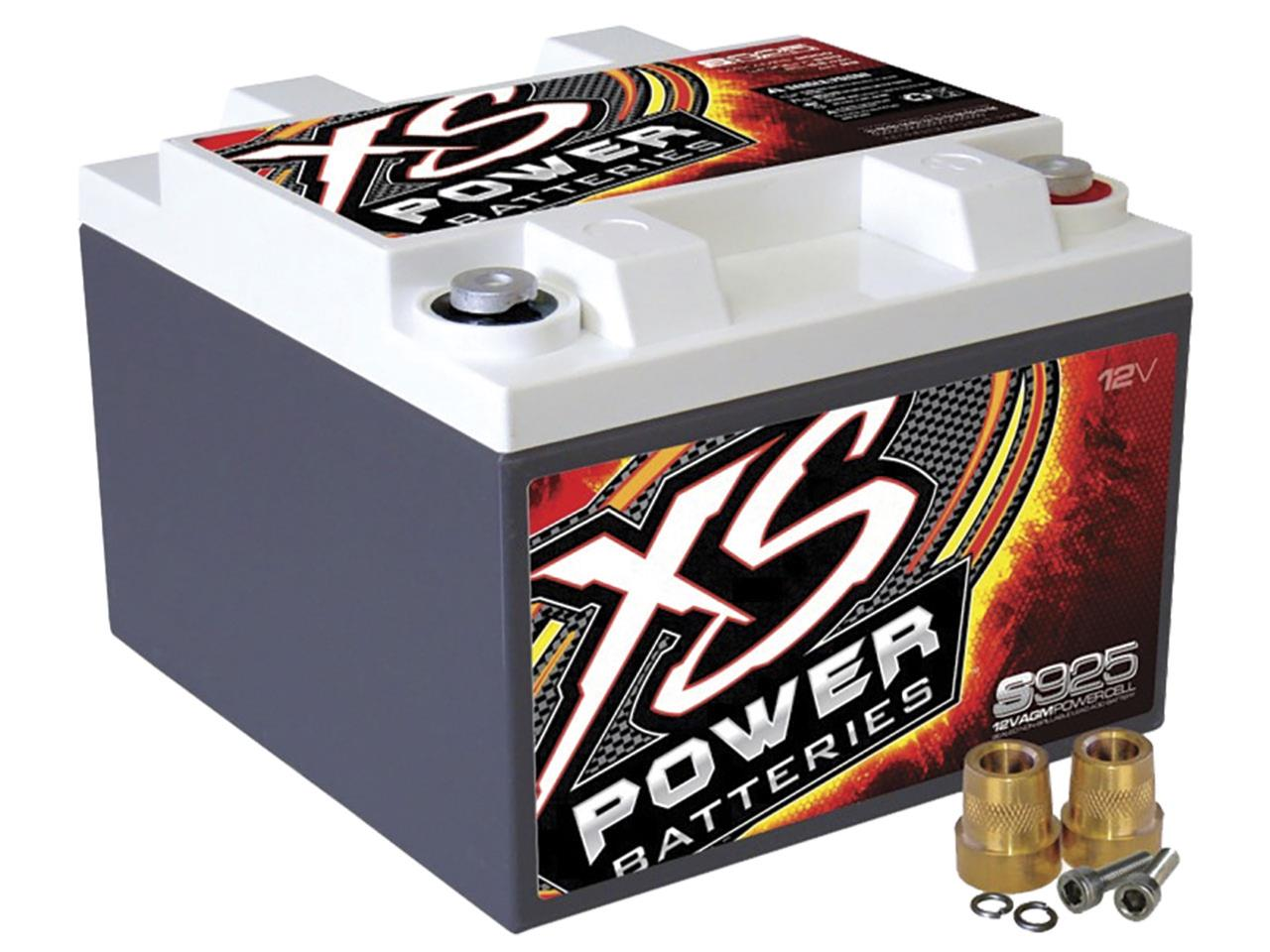 XS 12 Volt AGM Battery - Max Amps: 2000 CA 550