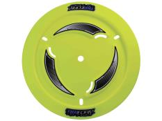 TruForm Vented Fluorescent Yellow Plastic Wheel Cover KIT
