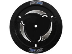 TruForm Vented Black Plastic Wheel Cover KIT