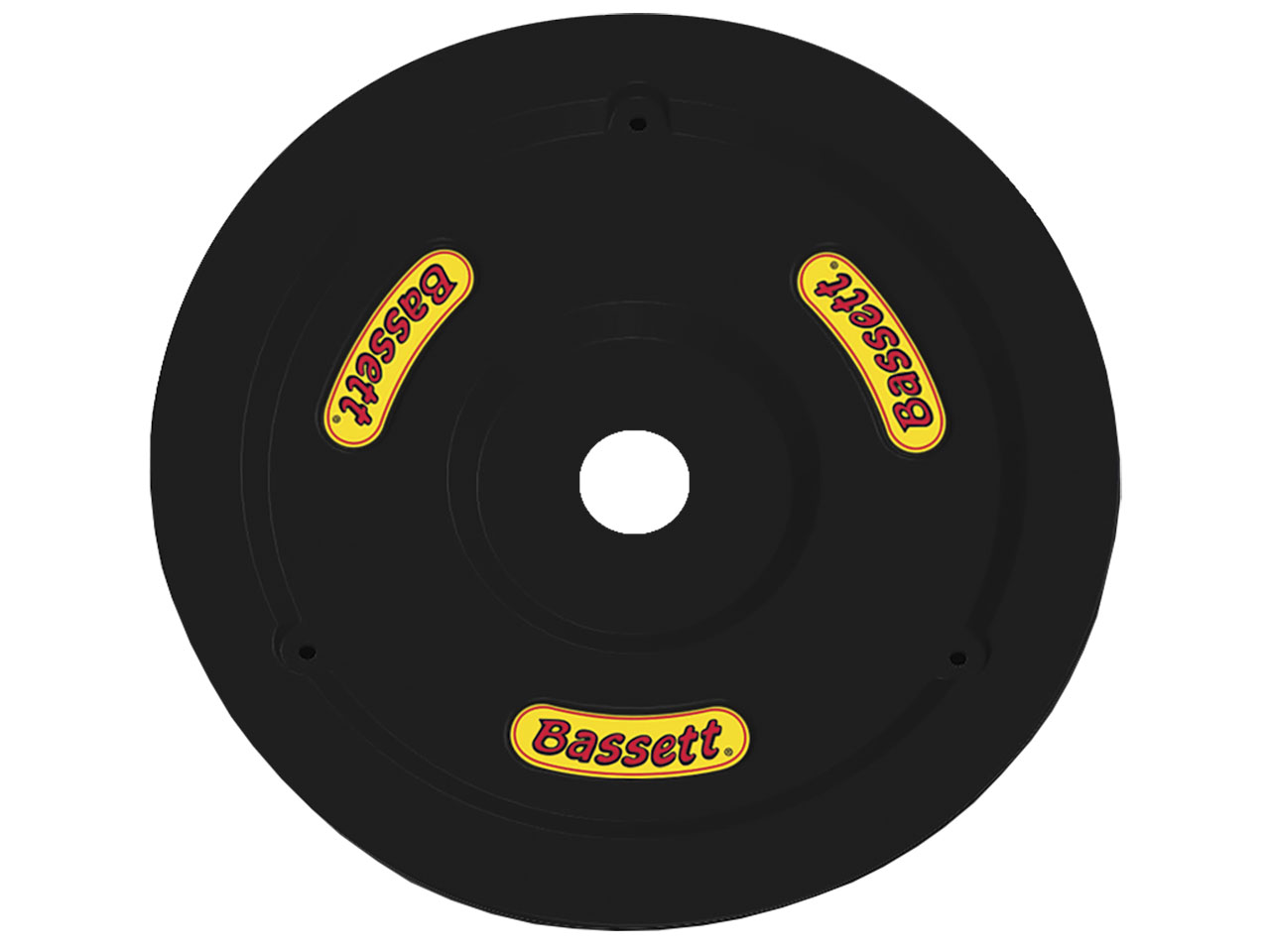 Bassett Plastic Wheel Cover and Bolt Kit - (Black)