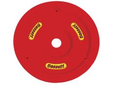 Bassett Plastic Wheel Cover and Bolt Kit - (Flo Red)