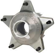 Wilwood 55 Rear Hub w/ Snap Cap and Drilled Studs - Silver