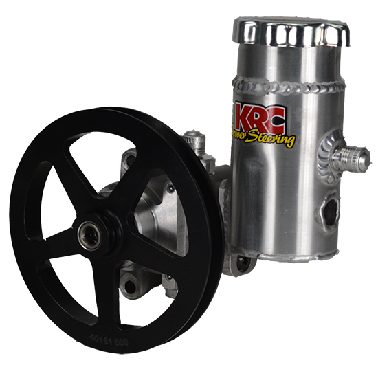 "KRC Elite Aluminum Pump w/ 6"" V-Belt Pulley & Bolt on Tank"