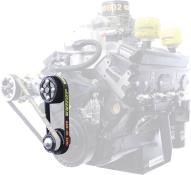 Picture of Jones SBC-Crate Radius Tooth Water Pump & Tandem Pump Drive Kit (KSE/Sweet)