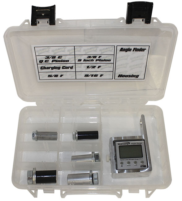 HMS Angle Gauge Kit w/ Intercomp Angle Finder