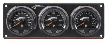 Longacre Waterproof SMI 3 Gauge Panel - (OP/WT/FP-15)
