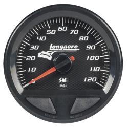 Longacre Waterproof SMI Fuel Pressure Gauge - (0-120 PSI)