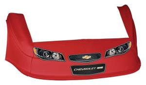 MD3 Gen 2 Nose/Fender/Decal Kit - Flat RF - (Red-Chevy SS)