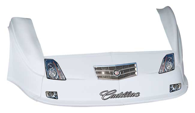 MD3 Gen 2 Nose-Fender-Decal Kit - Flat RF - (White-Cadillac)